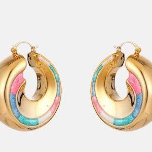ASOS Jewelry - Large Gold Hoop Earrings